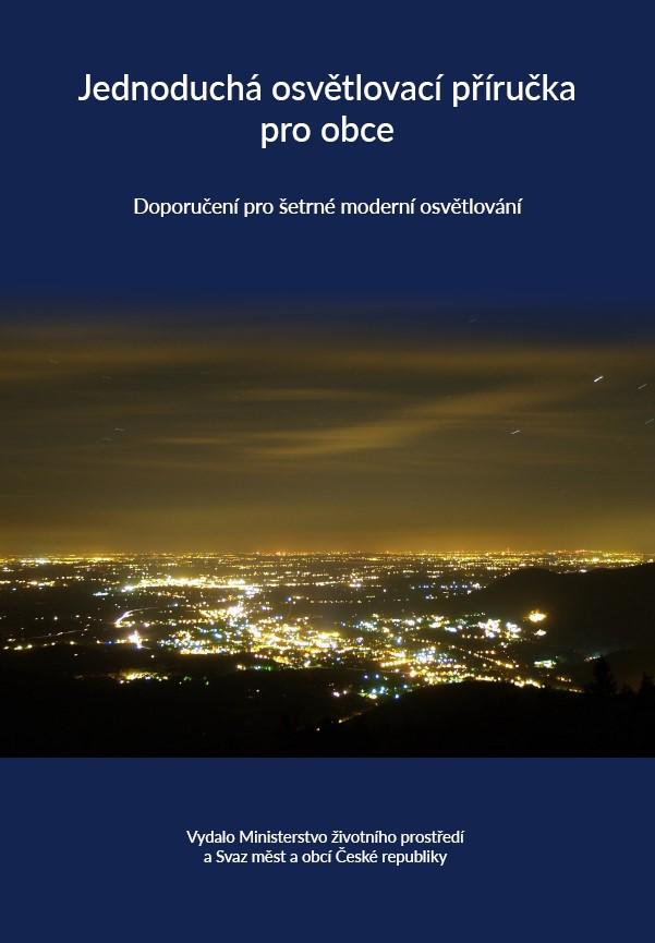 Mapy světelného znečištění Evropa a ČR - velké rozlišení pro tisk