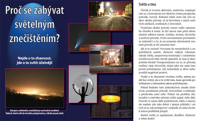 Proč se zabývat světelným znečištěním?