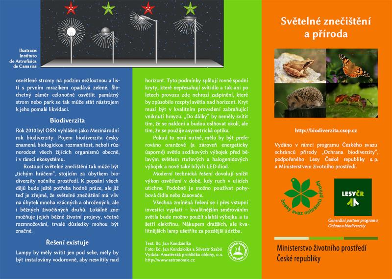 Světelné znečištění a příroda